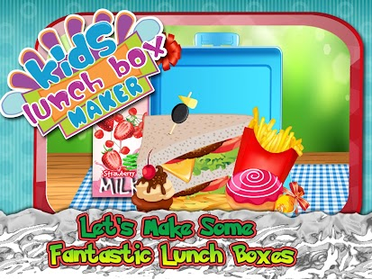 Lunch Box Maker Cooking Games