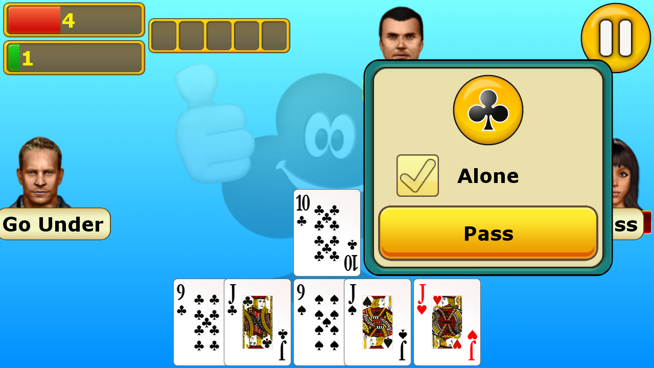 Euchre - screenshot