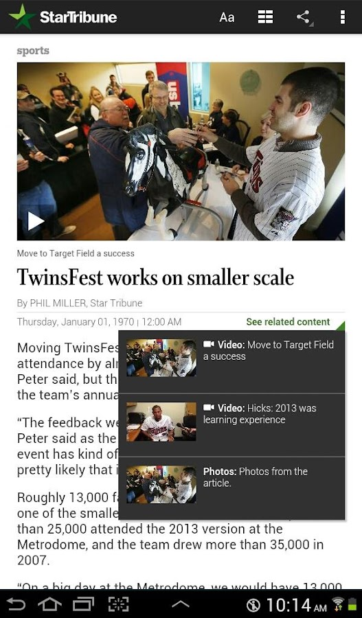 Star Tribune News- screenshot