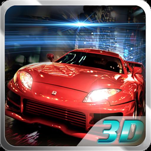 ナイトカーレース3D 賽車遊戲 LOGO-玩APPs