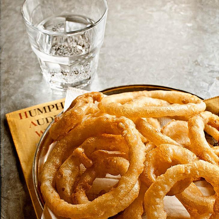 Sourdough Onion Rings