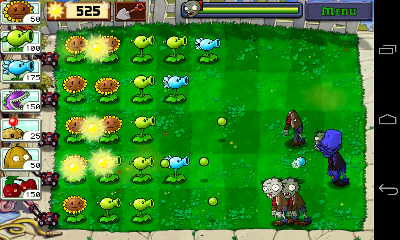 Screenshots of Plants vs. Zombies FREE for iPhone