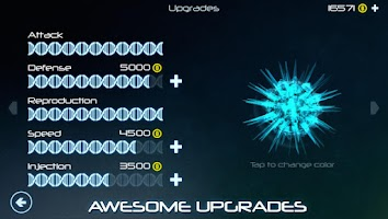 Screenshot of Biotix: Phage Genesis