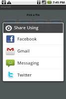 Screenshot of ShareIt