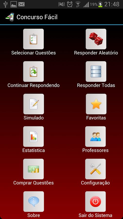 PCF0001 TJDFT Concurso Fácil- screenshot