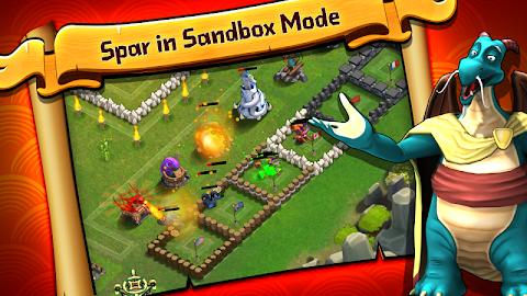 Battle Dragons:Strategy Game Screenshot 8