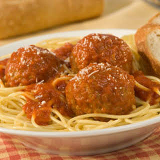 Grandma's Best Ever Spaghetti & Meatballs.