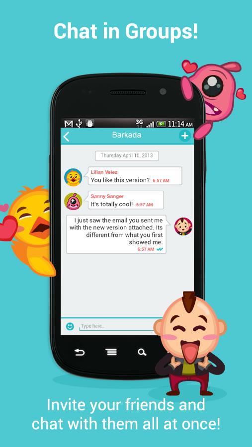 Babble Messenger - screenshot