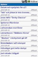 Screenshot of IFK Göteborg
