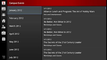 Screenshot of bConnected for Google TV