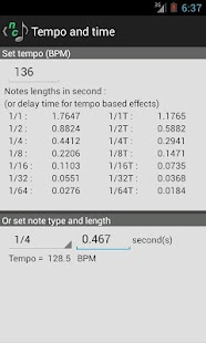 Note Converter with Tap Tempo - screenshot thumbnail