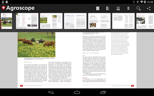 Publikationen Agroscope- screenshot thumbnail