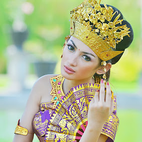 Beauty Balinese Girl by Jiboy Mandey - People Portraits of Women ( bali, model, sli, indonesia, jiboy, traditional, beauty )
