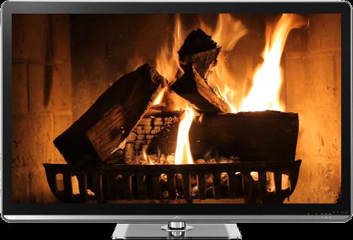 Fireplace Candles Chromecast