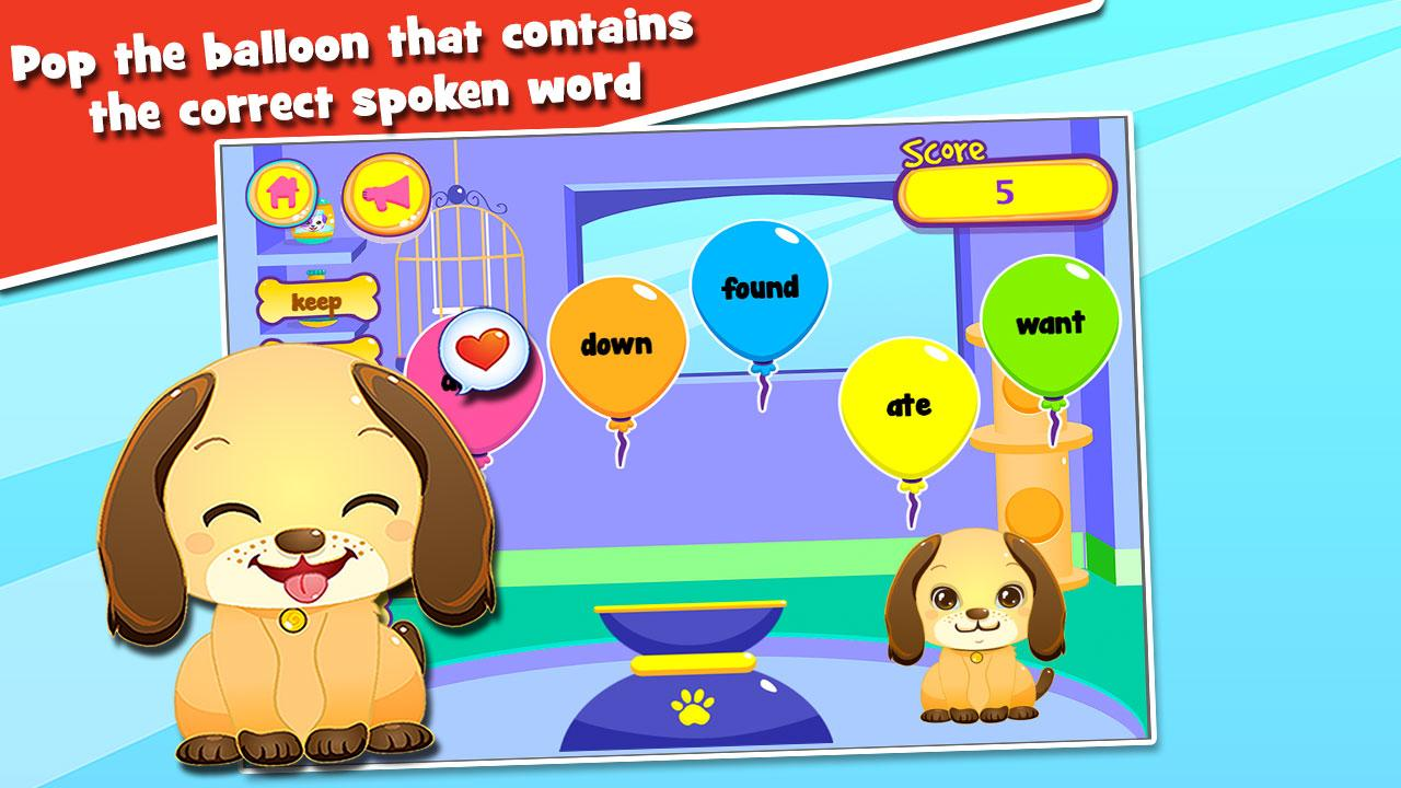Kids Reading Sight Words- screenshot