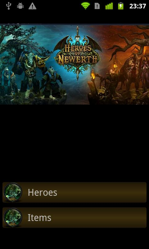 Heroes of newerth Guidebook - screenshot
