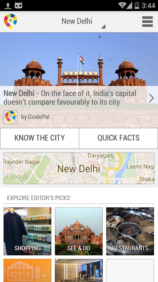 New Delhi City Guide Android Apps On Google Play
