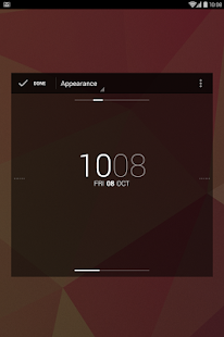 DashClock Widget - screenshot thumbnail