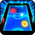Glow Air Hockey HD icon