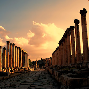 ANCIENT ROMAN PILLARS by Leon Zaragoza - Buildings & Architecture Statues & Monuments (  )