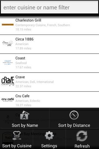 AmericasCuisine- screenshot