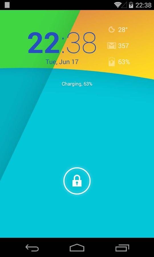 KK Widget ( DashClock + ) - screenshot