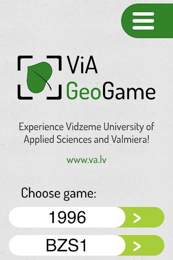 ViA GeoGame
