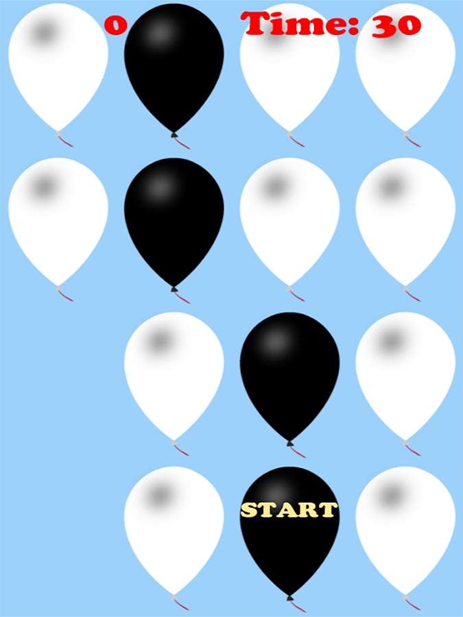 Don't Pop the White Balloons - screenshot