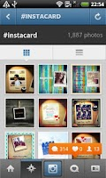 Screenshot of InstaCard for Instagram