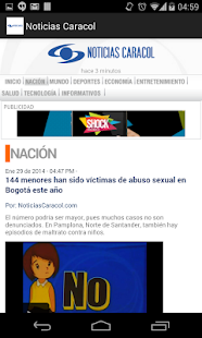 Noticias Caracol- screenshot thumbnail