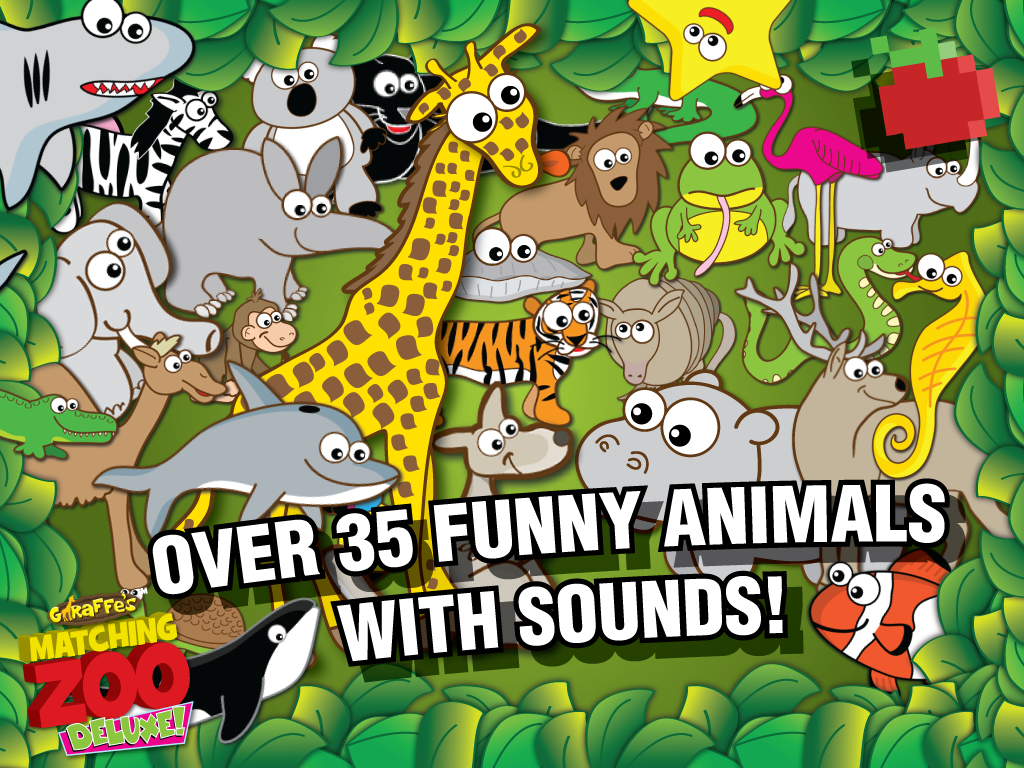 giraffe u0027s matching zoo deluxe android apps on google play