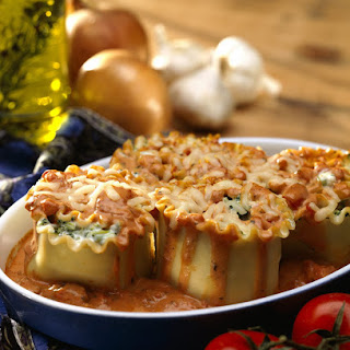 Zucchini Lasagna Rollups.