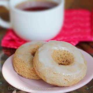 Glazed Homemade Donuts.