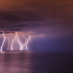 by Cesare Morganti - Landscapes Weather ( sea, weather, night, electricity,  )