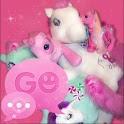 GO SMS PRO Theme Pink Pony logo