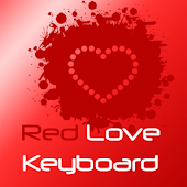 Red Love Keyboard