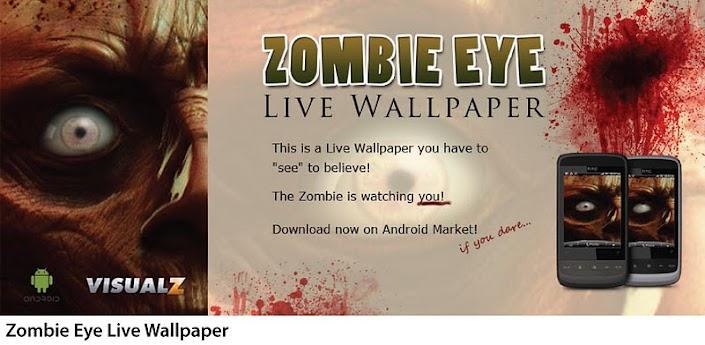 Zombie Eye Live Wallpaper