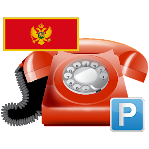 Android aplikacija Parking + telefoni, Crna Gora