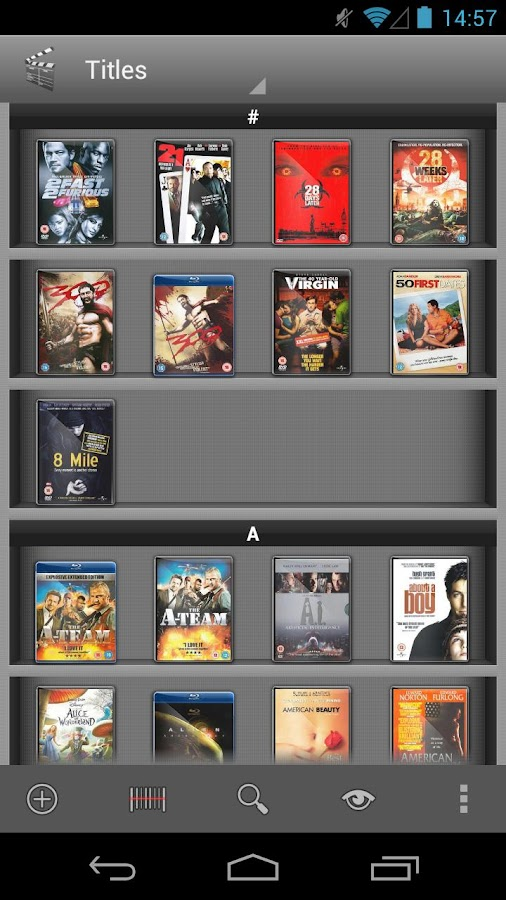 My Movies Free - Movie Library - screenshot