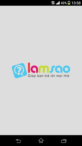 Lamsao - Giúp trả lời mọi thứ