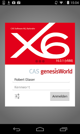 CAS genesisWorld x6