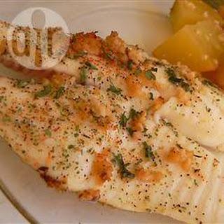 White Fish with Lemon and Garlic.
