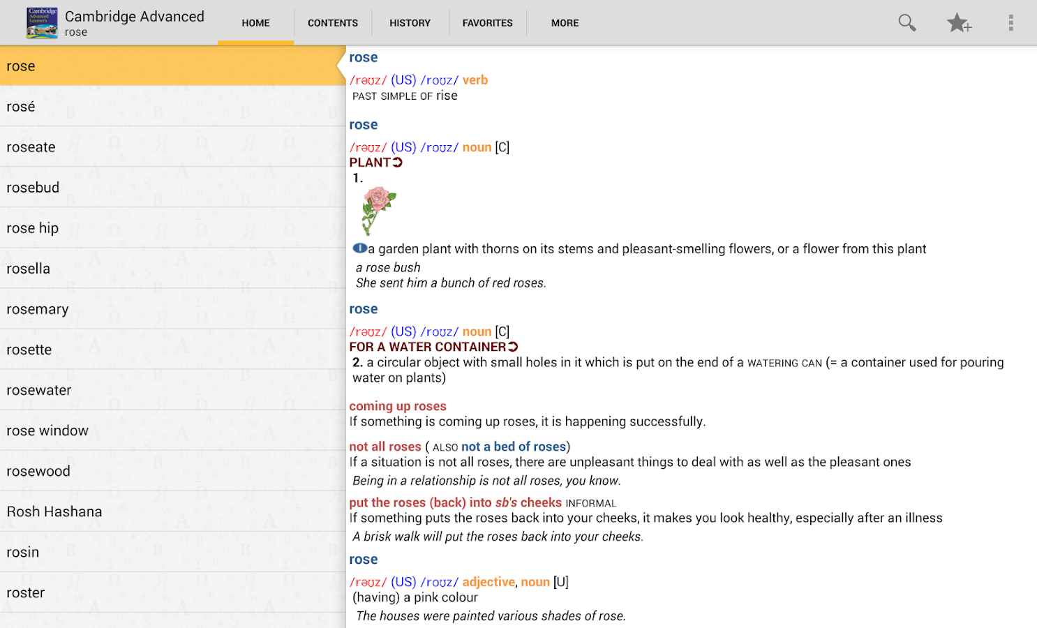 Cambridge Advanced Learners - screenshot