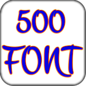 500 font pack for galaxy