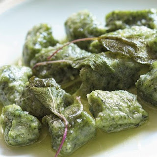 James Peterson's Spinach Gnocchi