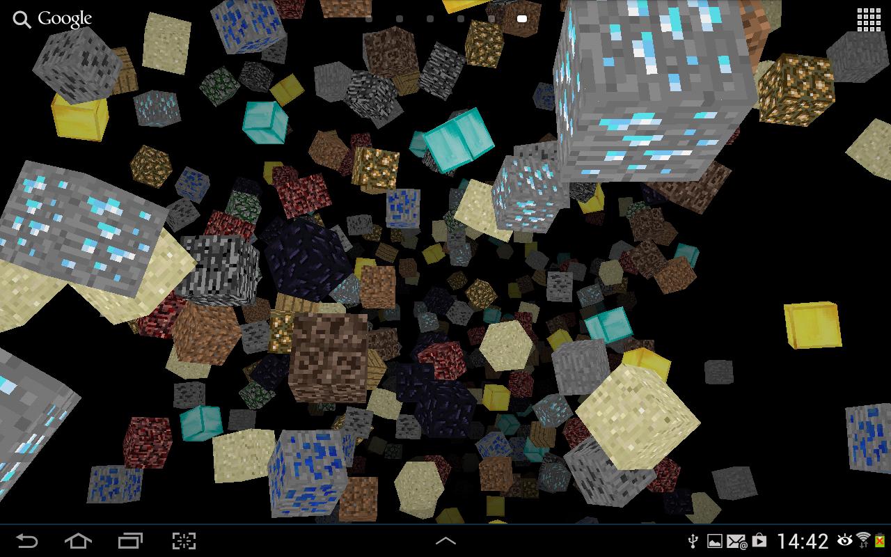 minecraft animated wallpaper