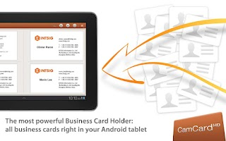 Screenshot of CamCard HD Free-BizCard Reader