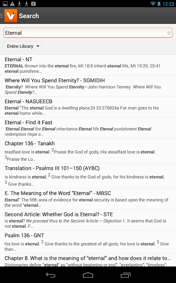 Vyrso: Christian Ebooks - screenshot