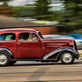 Zoom by Pat Eisenberger - Transportation Automobiles ( car, automobile, auto, sporty, antique,  )
