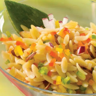 Rainbow Orzo Salad